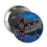 """Vancouver Canada Souvenir 2.25"""" Button (100 pack)"""