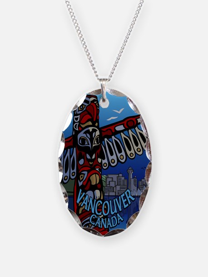 Vancouver Canada Souvenir Necklace