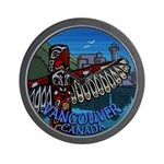 Vancouver Canada Souvenir Wall Clock