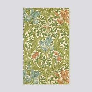 William Morris Iris Sticker (Rectangle)
