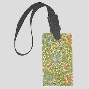 William Morris Iris Large Luggage Tag