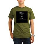 Cia Mailmen - Organic Men's T-Shirt (dark)