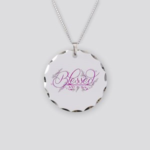 Blessed fuchsia flourish Necklace
