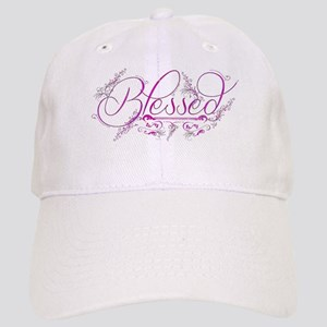 Blessed fuchsia flourish Baseball Cap