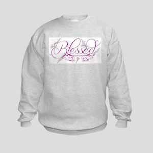 Blessed fuchsia flourish Sweatshirt