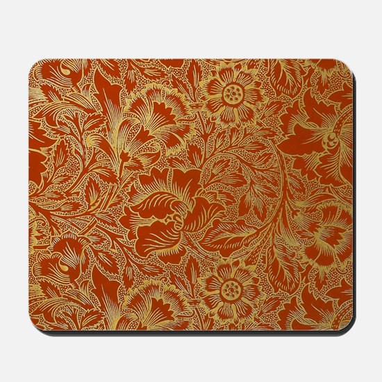 William Morris Poppy Design Mousepad