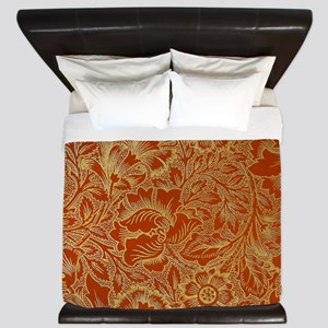 William Morris Poppy Design King Duvet