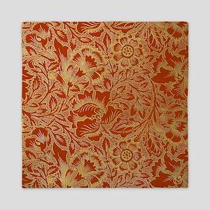 William Morris Poppy Design Queen Duvet