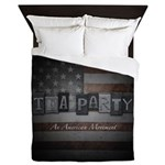 An American Movement Queen Duvet