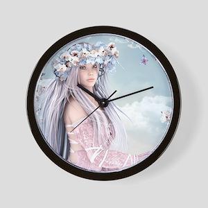 Fairytale Girl Wall Clock