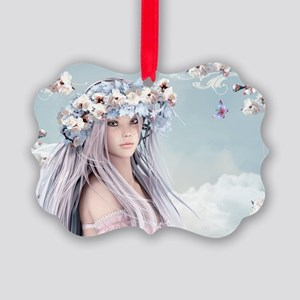 Fairytale Girl Picture Ornament