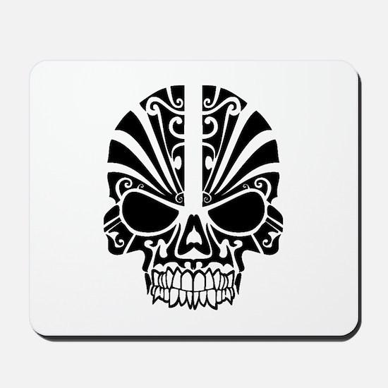 Skull Tattoo Tribal Mousepad