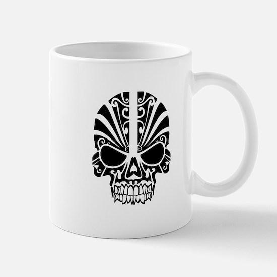 Skull Tattoo Tribal Mugs