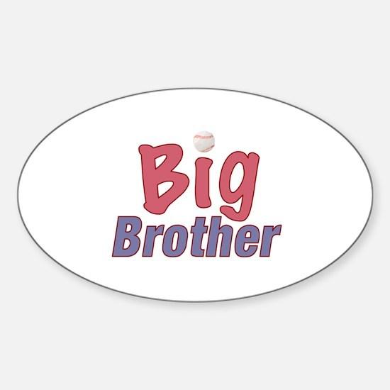 Big Brother (Baseball) Oval Decal