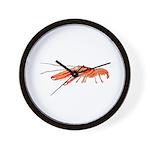 Pistol Snapping Shrimp Wall Clock