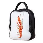 Pistol Snapping Shrimp c Neoprene Lunch Bag