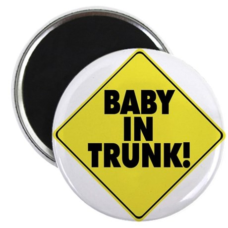 Baby In Trunk Magnet