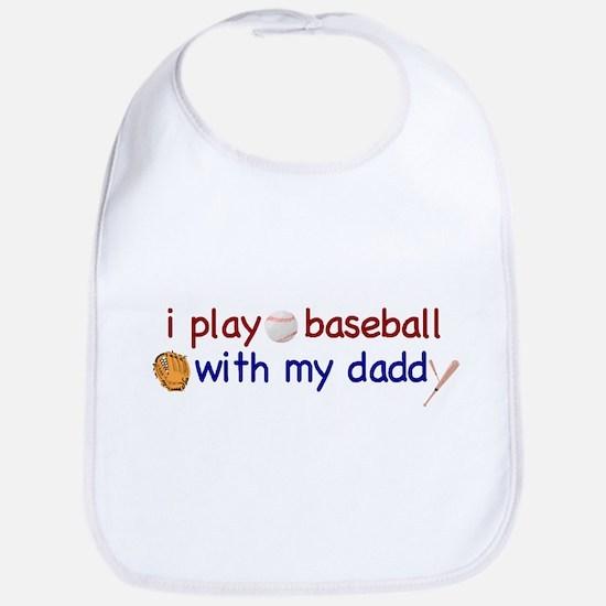 Play Baseball with Daddy Bib
