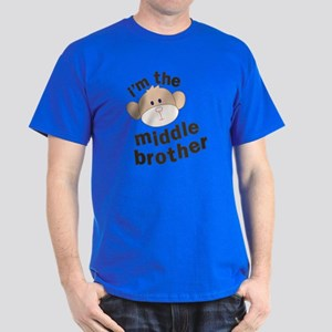 middle brother monkey Dark T-Shirt
