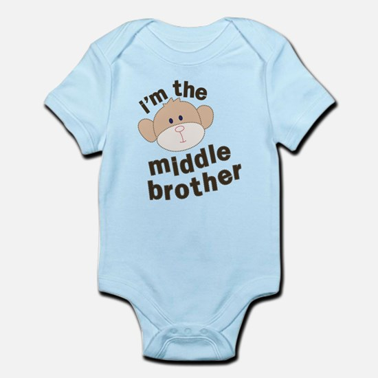 middle brother monkey Infant Bodysuit