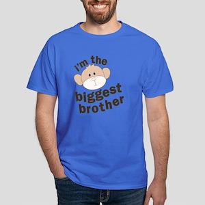 ADULT SIZES big brother monkey Dark T-Shirt