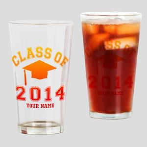 Class Of 2014 Graduation Drinking Glass