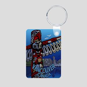 Vancouver Canada Souvenir Aluminum Photo Keychains