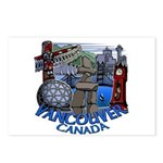 Vancouver Canada Souvenir Postcards (Package of 8)