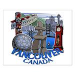 Vancouver Canada Souvenir Small Poster