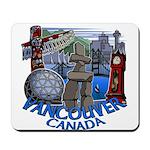 Vancouver Canada Souvenir Mousepad