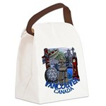 Vancouver Canada Souvenir Canvas Lunch Bag