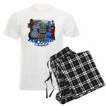 Vancouver Canada Souvenir Men's Light Pajamas