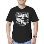Vancouver Canada Souve Men's Fitted T-Shirt (dark)