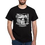 Vancouver Canada Souvenir Dark T-Shirt