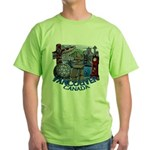 Vancouver Canada Souvenir Green T-Shirt
