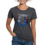 Vancouver Canada Souvenir Womens Tri-blend T-Shirt