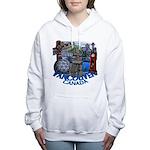 Vancouver Canada Souveni Women's Hooded Sweatshirt