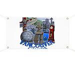 Vancouver Canada Souvenir Banner