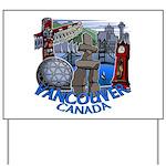Vancouver Canada Souvenir Yard Sign