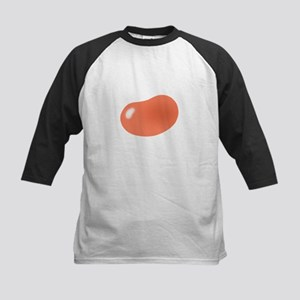 bigger jellybean orange Kids Baseball Jersey