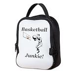 Basketball Junkie Neoprene Lunch Bag