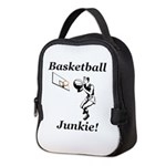 Basketball Junkie Neoprene Lunch Bag