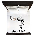 Basketball Junkie King Duvet