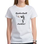 Basketball Junkie Women's T-Shirt