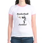 Basketball Junkie Jr. Ringer T-Shirt