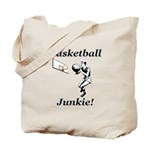 Basketball Junkie Tote Bag