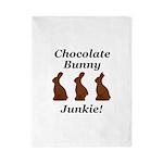 Chocolate Bunny Junkie Twin Duvet