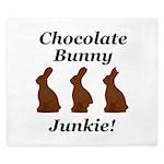 Chocolate Bunny Junkie King Duvet