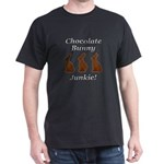 Chocolate Bunny Junkie Dark T-Shirt