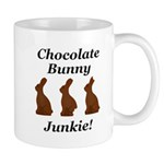 Chocolate Bunny Junkie Mug